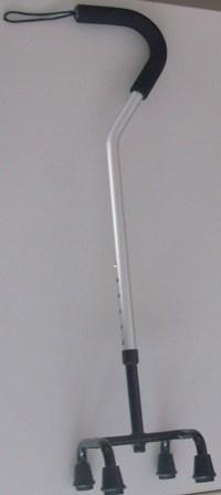 Baston con cuatro apoyos cuello gonso, custom