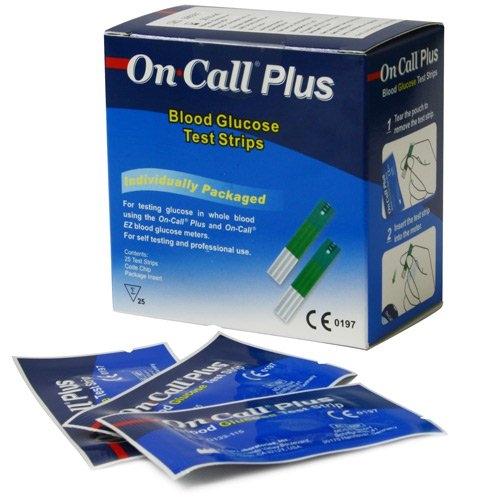 Tiras Reactivas para Glucómetro On Call