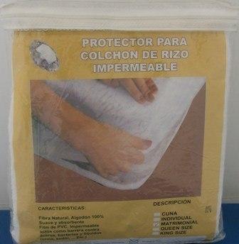Protector de colchón matrimonial