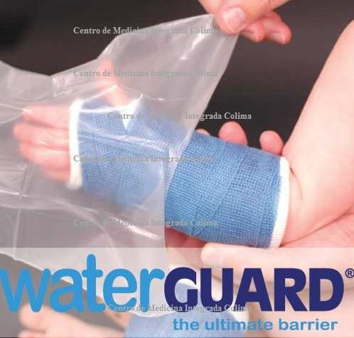 Protector corto p/yeso brazo infantil pieza