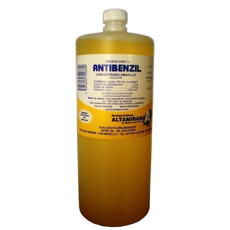 Antibenzil Amarillo Concentrado 1lt