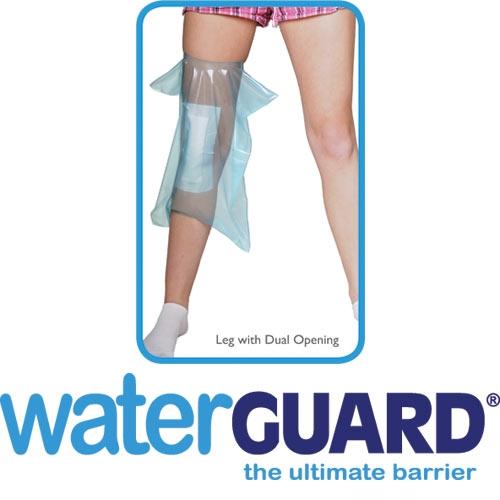 Protector de yeso para rodilla