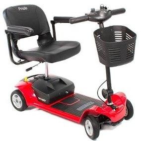 El scooter GO-GO 4 Ruedas