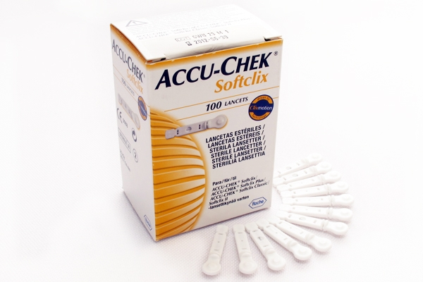 **ACCU-CHEK SOFTCLIX LANCETAS C/100