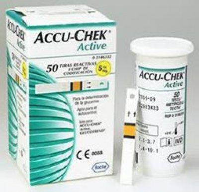 Accu-chek Active Tiras