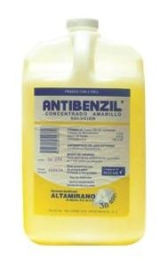 Antibenzil concentrado amarillo 3.75 ml