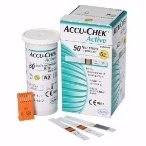 *ACCUCHEK ACTIVE 50 TIRAS