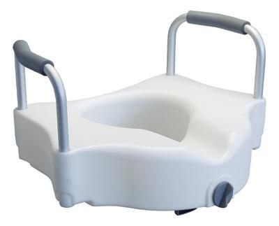 Aumento para WC con agarraderas