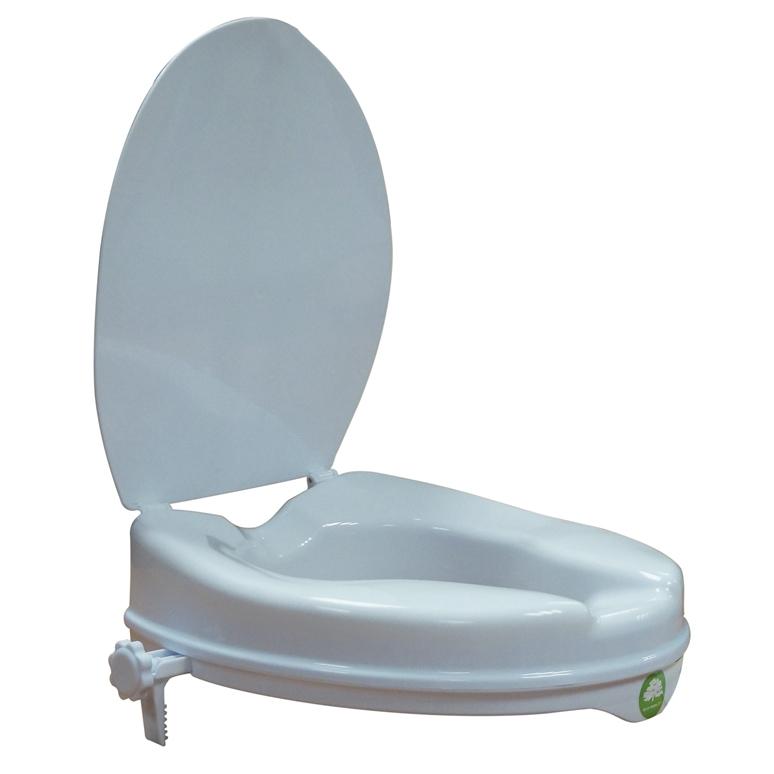 Aumento para WC con tapa
