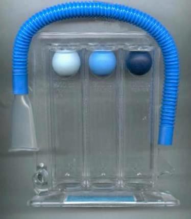 Ejercitador TRIFO II (Espirómetro)