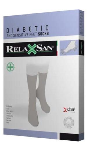 Calcetin Para Diabetico Relaxsan 550 Negro Talla Mediana