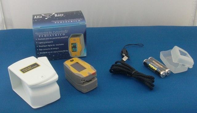 Oximetro de pulso-dedo pediatrico
