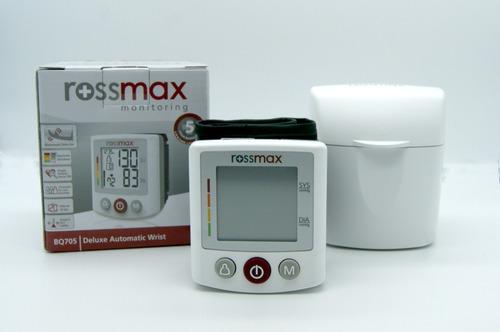 Baumanometro De Lujo Digital De Muñeca Rossmax Bq705