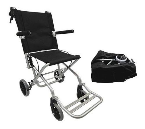 Silla De Traslado De Aluminio Portátil C/bolsa Speedy Sp9000