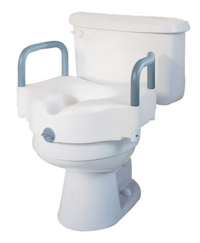 Aumento Para Baño Wc Con Apoyo Para Brazos Fijo Superconfort