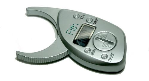 Plicometro Digital Medidor De Grasa Corporal Hergom Bf02