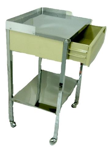 Mesa Pasteur Con Cajón Te109