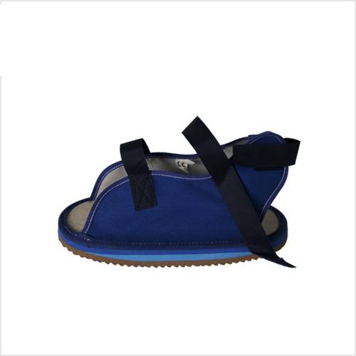 Zapato Bota Para Yeso En Lona, Super Confort Ft038