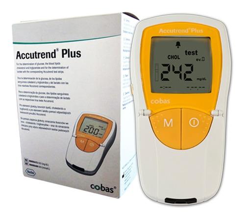 Accutrend Plus Medidor De Colesterol, Glucosa, Trigliceridos