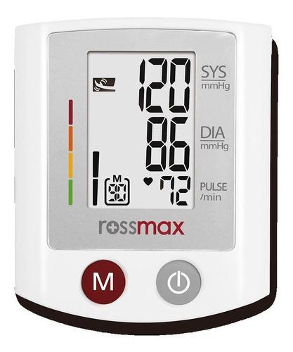 Monitor De Presión Arterial Digital De Muñeca Rossmax S150