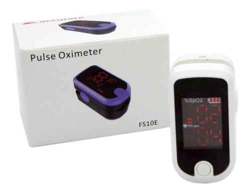 Oximetro De Pulso De Dedo Accurate Fs10e