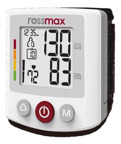 Monitor De Presión Arterial Digital De Muñeca Rossmax Bq705