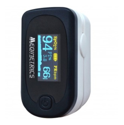 Oximetro De Pulso Digital Con Funda Medimetrics Fs20a