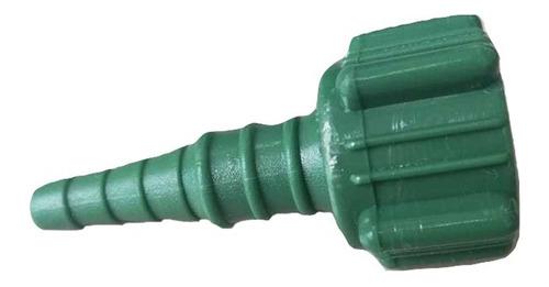 10 Conectores Niple Tuerca Plastica Cola De Raton P/oxigeno