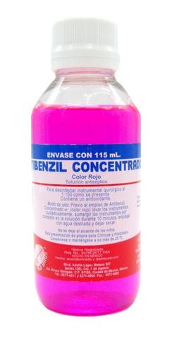 Antibenzil Concentrado Rojo 115 Ml Farmacéuticos Altamirano