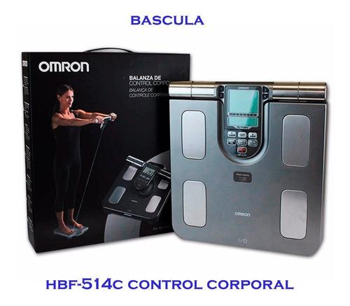 Bascula Omron Medidor Grasa Corporal Memorias Hbf514c