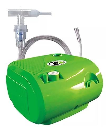 Nebulizador De Compresor Medineb 04 Verde