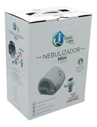 Nebulizador Mini Blanco Adulto Pediátrico Bc68006 Inhalacare