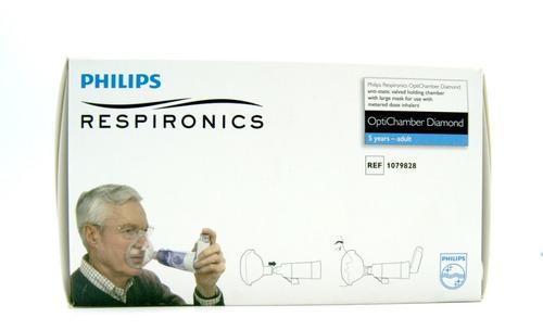 Cámara De Inhalación Aerochamber Phillips Respironics Adulto