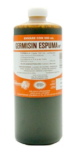Germisin Espuma Nf* 500 Ml Farmacéuticos Altamirano