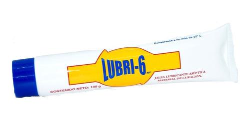 Lubri-6 Nf Jalea Lubricante Antiséptica Material De Curación